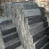 スレートの文化的な石塀のパネル、自然で装飾的な石