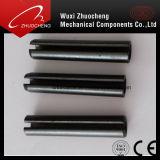 Schwarzer elastischer gekerbter gerader PinDIN1481 runder Pin