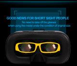 Contenitore Testa-Montato portatile di vetro 3D Vr di Smartphone di versione del cartone di Google