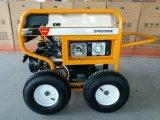 RCD와 4개의 X 압축 공기를 넣은 큰 바퀴 (GP8000SE)를 가진 휴대용 휘발유 발전기 7500 와트