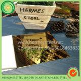 Strato dell'acciaio inossidabile di colore del fornitore PVD del metallo dai migliori Web site all'ingrosso