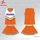 Healong 주문 UV 보호 가득 차있는 염료 승화 Cheerleading Jerseys