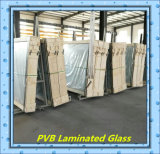 1830 * 2440mm * 3300mm 2134 6.38mm, 8.38PVB vidrio de seguridad laminado