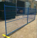 Cerco provisório galvanizado da cerca portátil