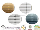 2014 Product novo Home e Promotion Use Cotton 100% Dyed Bath Towel com Satinborder