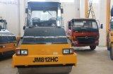 12トンの自動推進の二重ドラム道路工事の機械装置(JM812HC)