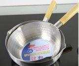 日本様式のアルミニウム雪ソース鍋(JX-069)