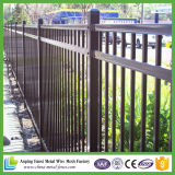 Painéis barato comerciais da cerca do ferro feito do preto do fornecedor de China