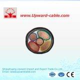 Медный силовой кабель сердечника 110kv высоковольтный XLPE
