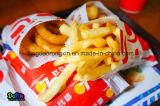 Patatas fritas revestidas de Lotteria del PE que empaquetan el papel del bolso