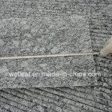 Шаг плитки волны G418 белым отполированный гранитом с Bullnose краем