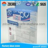Único pliegue suave caja de plástico transparente plegable