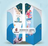 Affichage en carton Custom Oemodm Floor Card avec projecteur