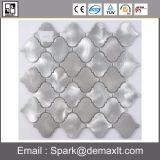 Mattonelle di mosaico di cristallo della miscela del metallo del quadrato di buona qualità