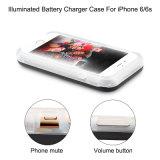 Éclairage LED d'Econfine Selfie vers le haut de mobile de Lumee/cas de chargeur batterie de téléphone cellulaire pour l'iPhone 7 (XIWXI7G)