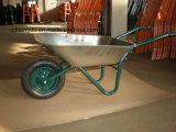 Um carrinho de mão de roda de aço da roda (WB6214)
