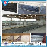 Couvre-tapis stable en caoutchouc de couvre-tapis de ruelle roulé par couvre-tapis de stalle de vache de dessus stable de bulle