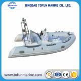 Hypalon/PVC de Opblaasbare Boot van de Rib (RIB420)