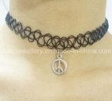 入れ墨のチョークバルブのネックレス/魚ワイヤーネックレスの方法宝石類(XJW13521)
