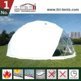 PVCファブリックが付いている特別なデザイン測地線ドームの半分球のテント