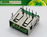 Conector USB3.0 para transmissão de dados de alta velocidade, grande corrente ~ 5A