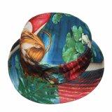 Шлем рыболова ведра изготовленный на заказ флористического печатание цветастый