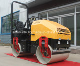 Compresor en tándem vibratorio hidráulico del asfalto del tambor del rodillo de camino de la fuente (FYL-900C)