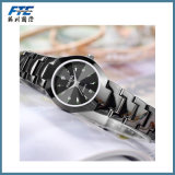 Relógio de pulsação de pulso de metal com pulseira unisex
