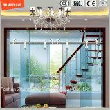 Acabamento ajustável em aço inoxidável e quadro de alumínio 6-12 Vidro temperado deslizando no chuveiro simples,, cabine de duche, banheiro, chuveiro, porta de chuveiro