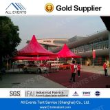 3X3m Red Color Pagoda Tent für Outdoor Events