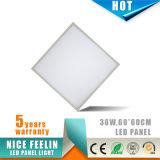 Ugr<19, luz del panel de 600*600m m 36W LED