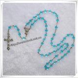 Pietra rosario Made in China Rosario Religiosi Il Santo Graal Pietra Moda Rosario (IO-cr201)