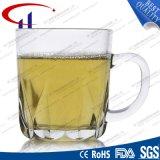 caneca branca do vidro de sílex de 230ml Supet para a água (CHM8119)