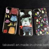 Caso de encargo del teléfono móvil de cristal duro 6s iPhone SE / Samsung / Huawei