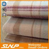 Tissu teint par filé chaud de flanelle de coton de plaid de vente pour des chemises