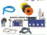 Estirador del tubo de la protección plástica del alambre del PE/máquinas/de la protuberancia máquinas flexibles de la fabricación