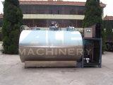 2000L gesundheitlich (elliptisches Milchkühlungbecken) zum horizontalen 5000L Milchkühlung-Becken (ACE-ZNLG-U2)