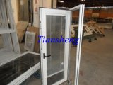 Casement di alluminio Window con Interior Costruire-in Shutter