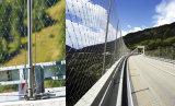 Maille baguée architecturale de corde d'acier inoxydable