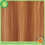 Laminazione di legno del grano dello strato dell'acciaio inossidabile di alta qualità 304 per la vendita calda
