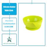 Jeux de dîner personnalisés de vaisselle de silicones de produits de silicones de catégorie comestible