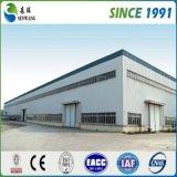 Il basso costo di alta qualità prefabbrica il magazzino d'acciaio