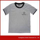 Magliette di alta qualità degli uomini su ordinazione del cotone con il vostro proprio marchio (R130)