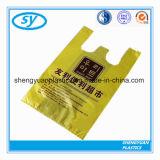 Пластичная хозяйственная сумка с печатание цвета