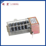 El contador del contador eléctrico de 6 ruedas, contador del contador de potencia parte a surtidor (LHPS6H-01B)