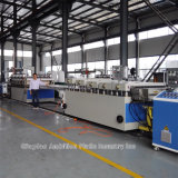 Machine en plastique d'extrudeuse de descripteur pour la construction