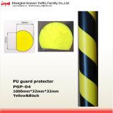 Ammortizzatore facile della protezione d'angolo dell'unità di elaborazione del nero di colore giallo dell'installazione