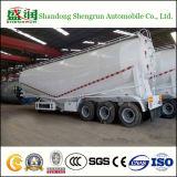 del cemento 50cbm de cargo del transporte del tanque acoplado a granel del carro semi