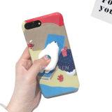 caja blanda del silicón del limo del apretón 3D para el iPhone 7 iPhone7 más