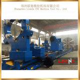 Máquina horizontal do torno da precisão Cw6180 manual clara para a venda